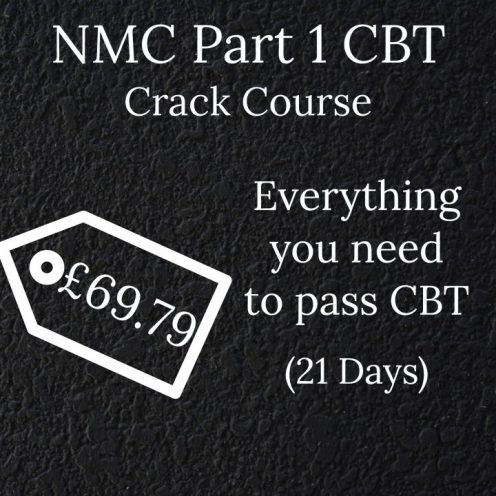 NMC CBT Crack Course - Everything a nurse need to know by Mentor Merlin