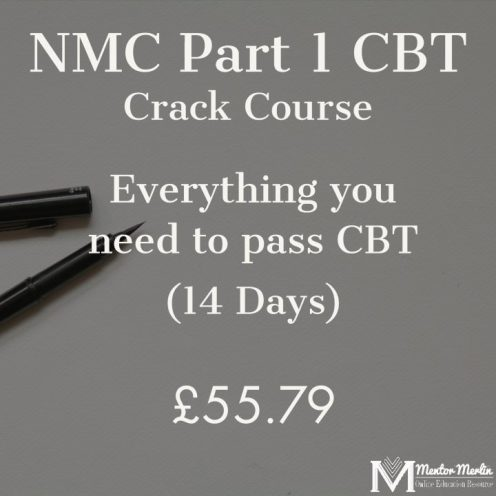 NMC CBT Crack Course -for overseas nurses by Mentor Merlin