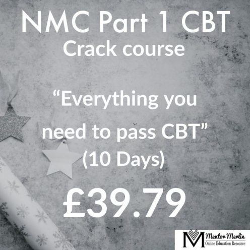 NMC CBT Part 1 Test of Competence by Mentor Merlin