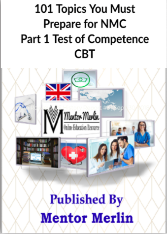 NMC CBT 101 Topics By Mentor Merlin