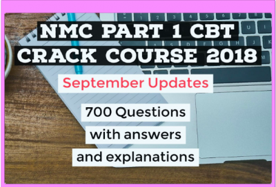 NMC CBT Crack Course - 2018 By Mentor Merlin