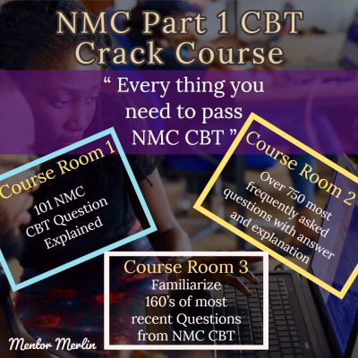 NMC CBT Crack Course - Everything a nurse need to know