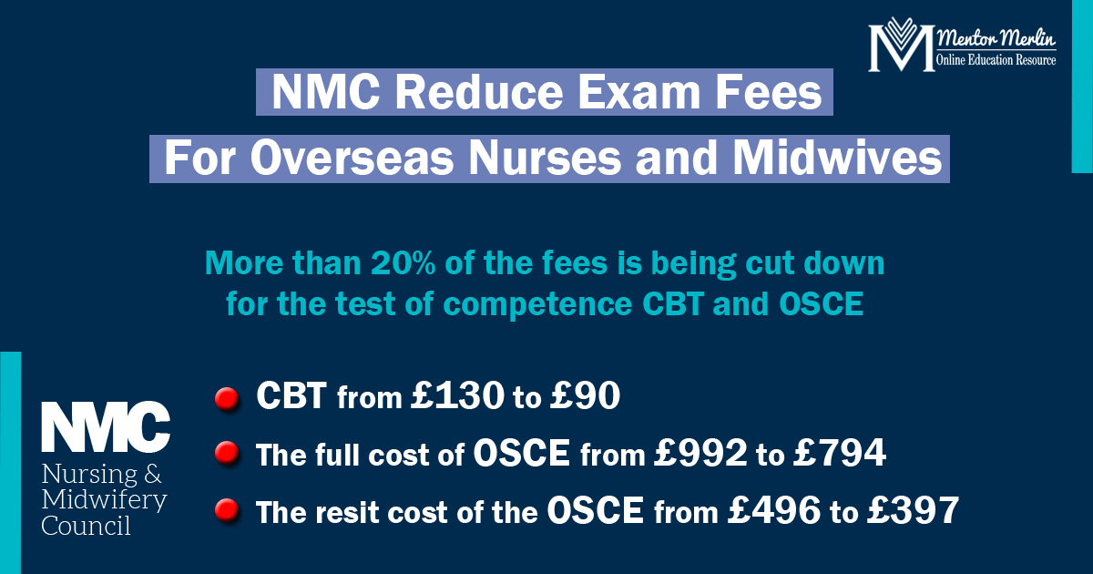 UK NMC to cut test fees to encourage Nursing and Midwifery workforce