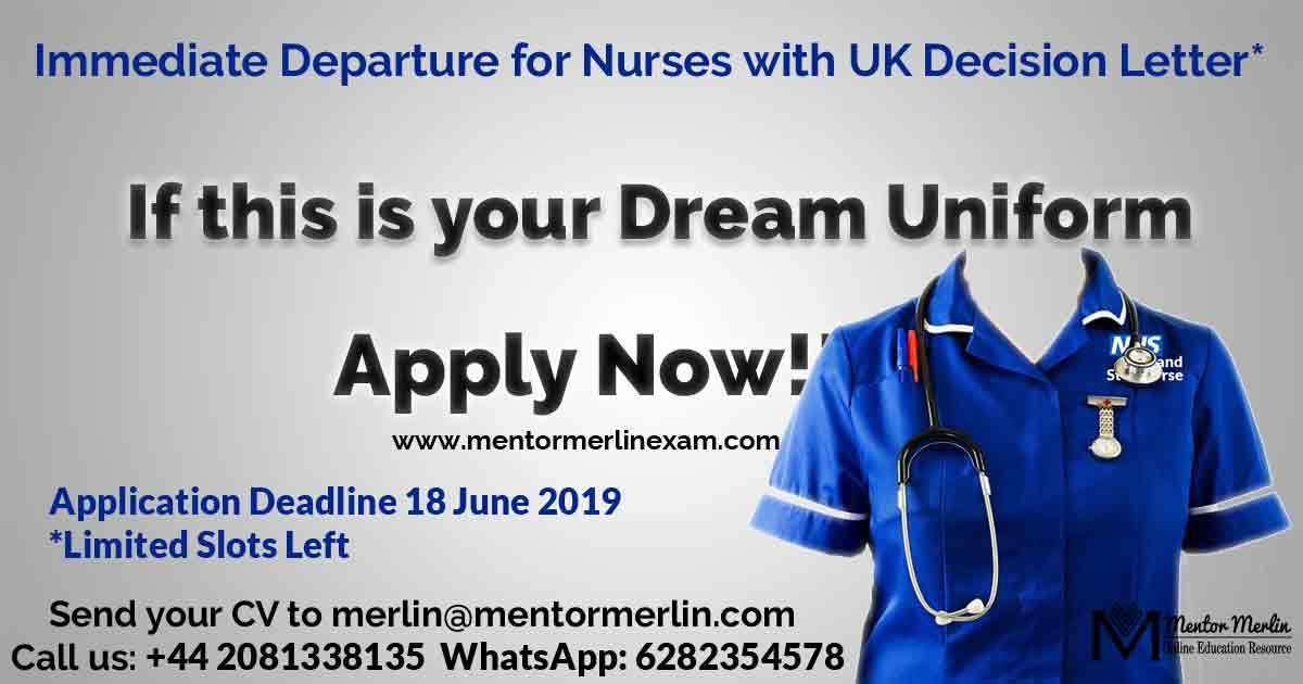 Immediate Departure for Nurses with UK Decision Letter