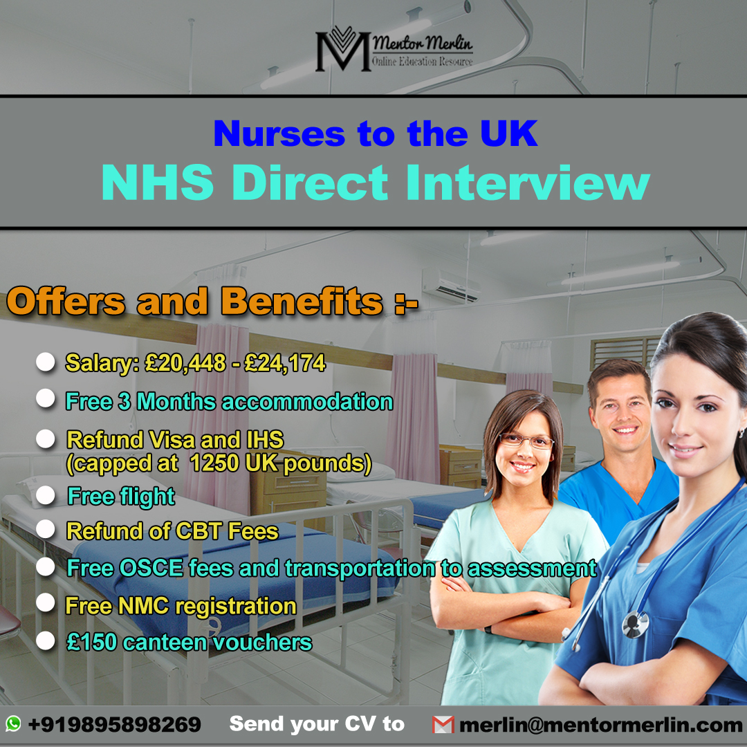 Nurses to the UK – NHS Direct Interview